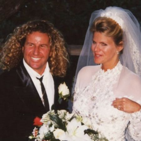 Betsy's ex-husband with her second wife at wedding day.