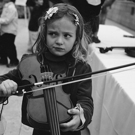 Chiara Aurelia childhood pic