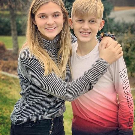 Skylar FDunn with her brother Ryan Dunn
