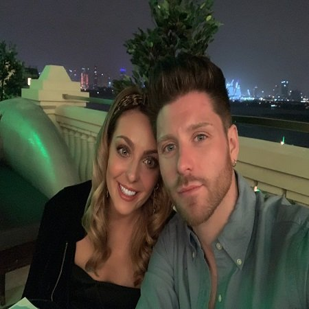 Amy Dowden engaged with her fiance image source Twitter
