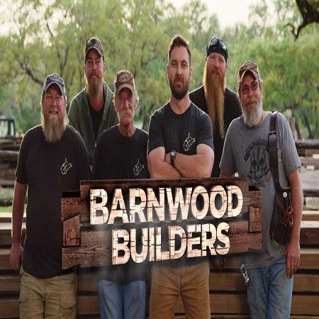 Johnny Jett with Barnwood Builders team