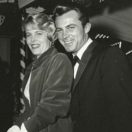 Late Joan Kenlay with her ex-husband Robert Conrad