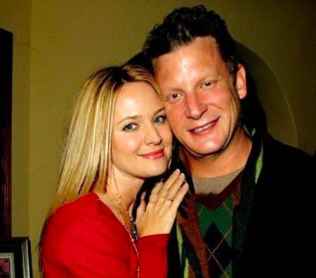 Sandy Corzine with ex-wife Sharon Case