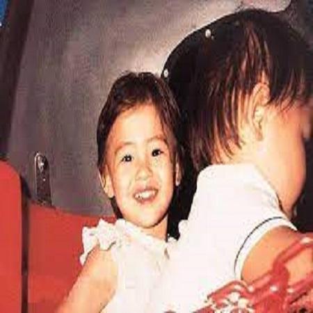 Cecilia Cheung Childhood Photo