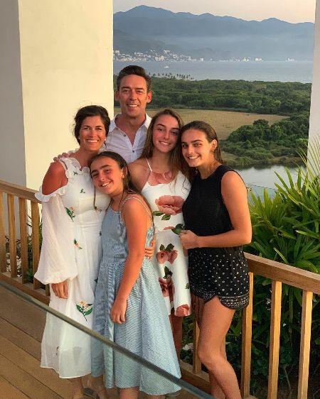 finley faith sehorn with her family