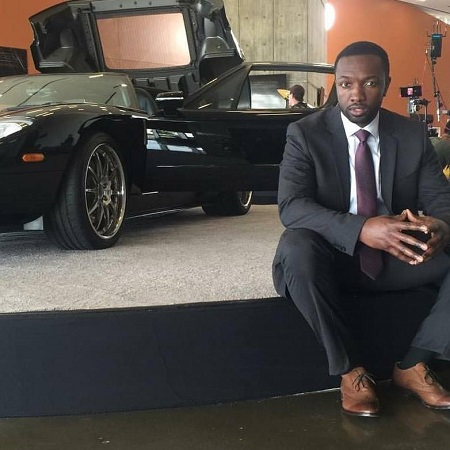 """Jamie Hector photoshoot for the movie """"The Wire"""","""