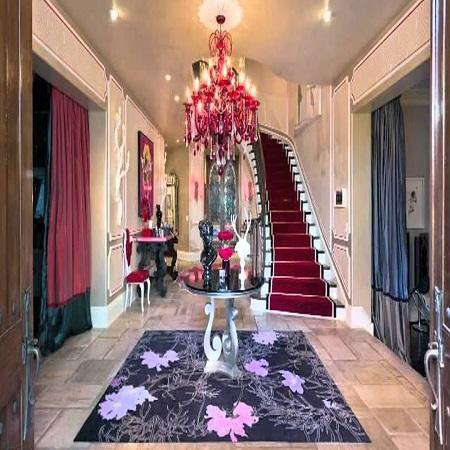 Christina's lavish mansion