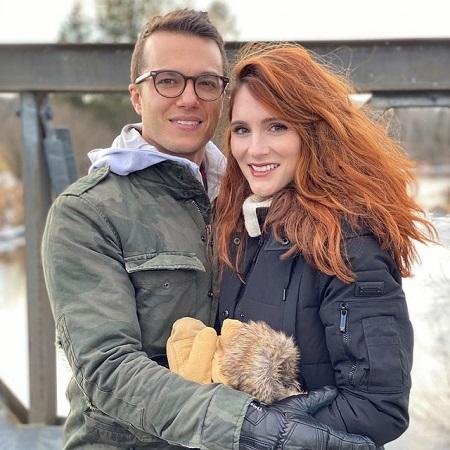 Stephanie with her boyfriend,