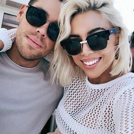 Katy with her husband John