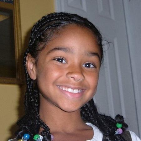 Aiyana Lewis childhood pic