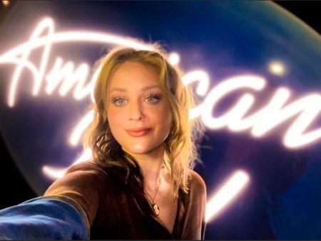 Hannah Everhart at the American Idol