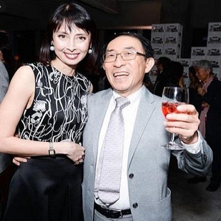 Ken-Hakuta with his wife Marilou Dreshare