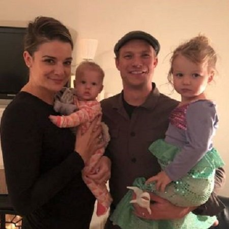 Kimberly with her husband Scot and kids