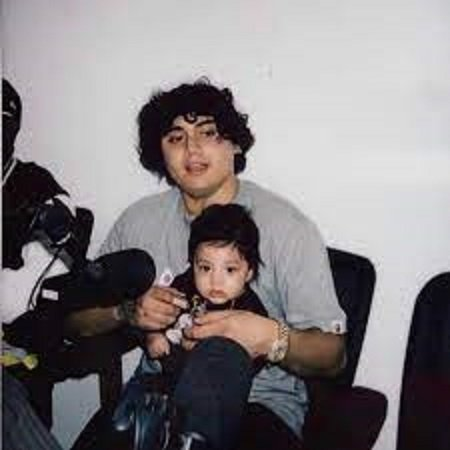 OHGEESY with his son Sincere