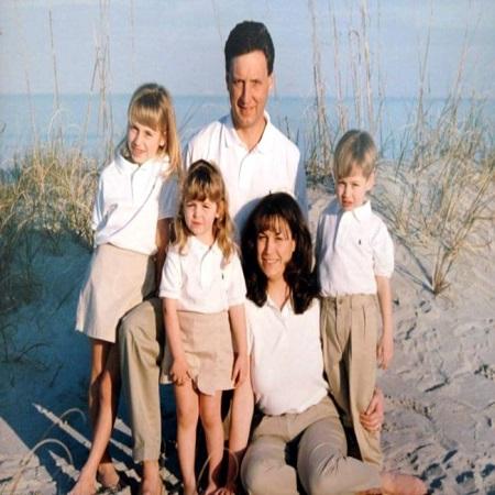 Sherri with her former husband, Bob and Kids,
