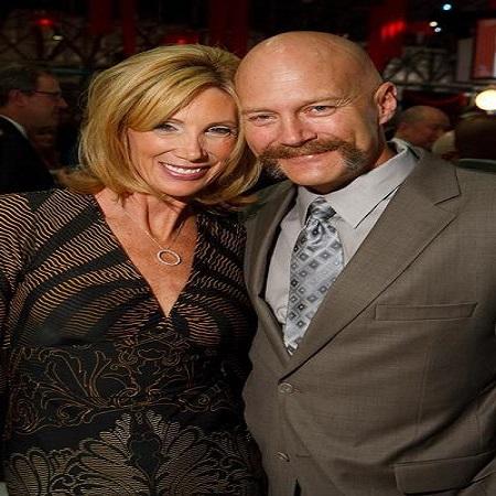 Janet with her present husband; Kevin Kretzmar