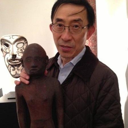 Justin Hakuta's father Ken Hakuta