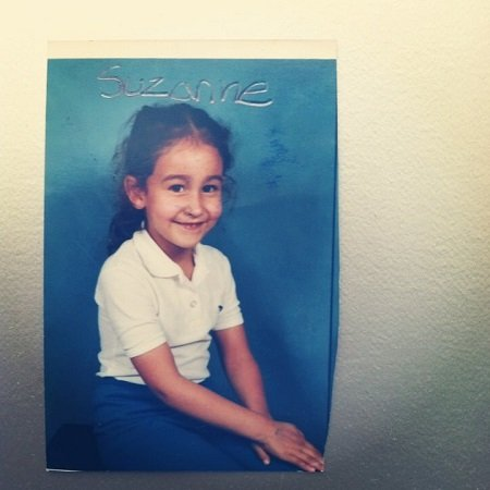 Suzanne Marques childhood pic,