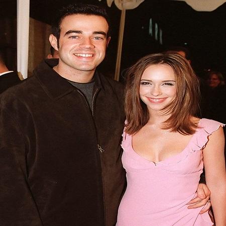 Jennifer with her husband