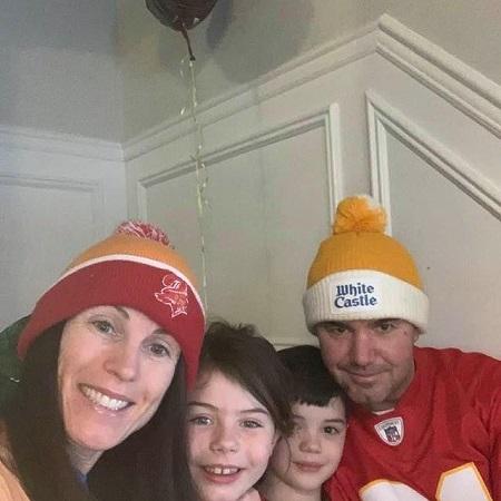 Joe Concha's family pic