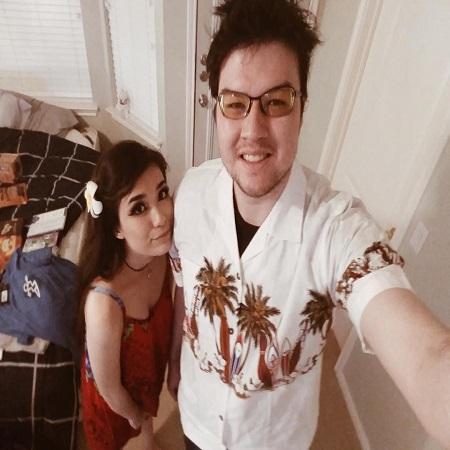 Emiru with her boyfriend Dyrus