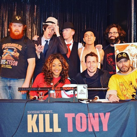 Tony's show promotional event,
