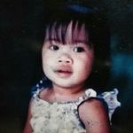 Pamela's childhood pic, source: Instagram