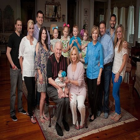 Debby's family pic at home, Baton Rouge,