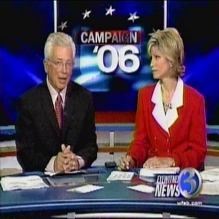 Denise D'Ascenzo celebrating her silverjubilee at WFSB News Channel, source Dennis House