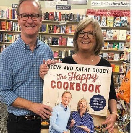 Kathy & Steve are promoting their book,