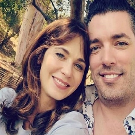 Kelsy Ully with her former husband Jonathan Scott, source Biography Mask