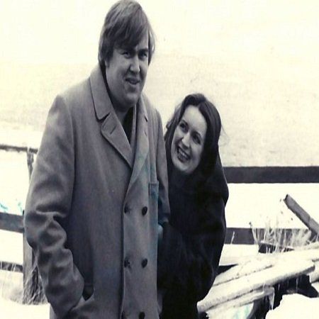 Rosemarry Margaret Hobor with her husband late John Candy, source Featured Biography
