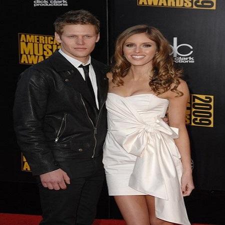 Zach with Kayla Ewell,