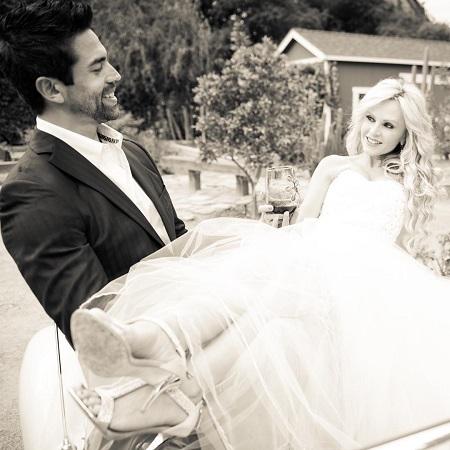 Eddie and Tamra at their wedding