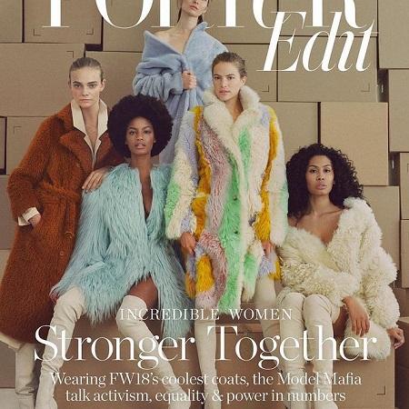 Magazine Cover, source Instagram
