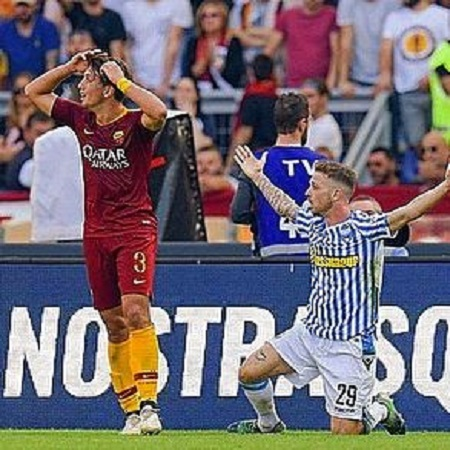 Great victory⚪️? #Roma #Spal #serieA # 29