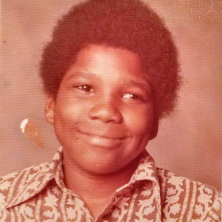 Curt Menefee posted his childhood pic captioning: If I didn't become a television host, I probably would have been a model! ??Yes that is me. #fbf #schoolphotos, source Instagram