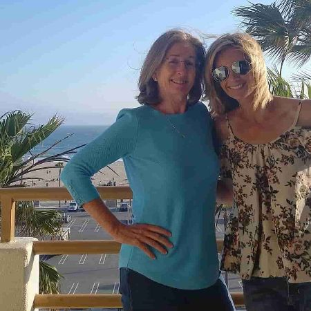 Lauren Wallace with mother