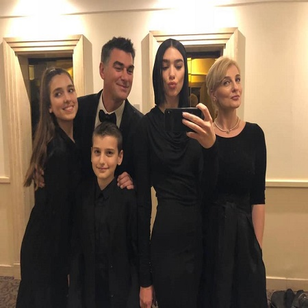 Dukagjin with his family On the way to meet his Holiness Pope Francis Vatican City #rome #italy #Vatican,