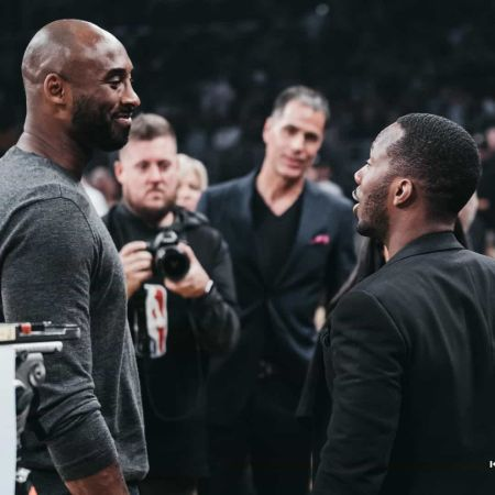 Rich Paul with the late Kobe Bryant