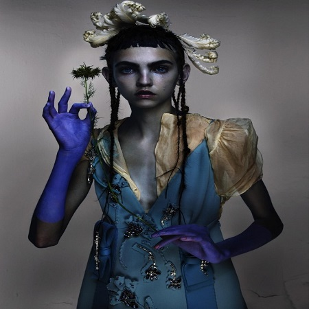 Molly's cover photo for blair nick knight v magazine, source Pinterest