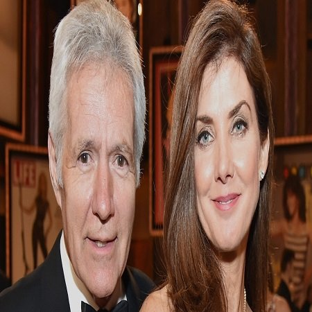 Alex Trebek with his wife Jean, source The Today Show