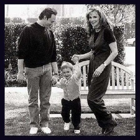 Brent Spiner Family pic, source Pinterest