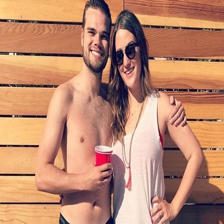 Emily with her boyfriend Allen, source Glamour Fame