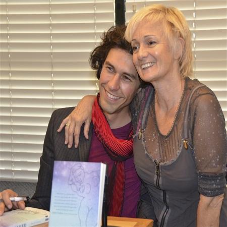 Julia Lazar Franco with her husband Tom Franco, source ABTC