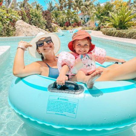 Laura Vitale on holiday
