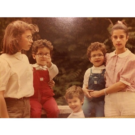 Livia Firth with her siblings, source Instagram