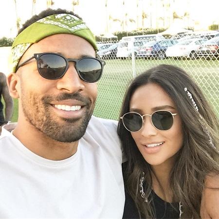Matte with his girlfriend Shannon Ashley Garcia MitchellShay Mitchell, Source Instagram