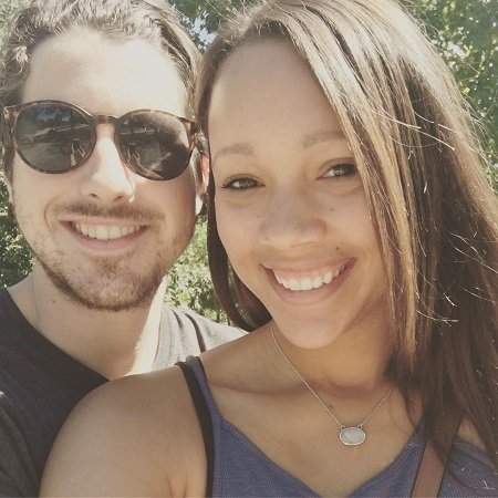 Sean Rio Flynn with his girlfriend Lyndsey Monconduit, source @rioflynn