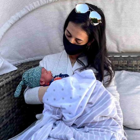 khalafi with Baby
